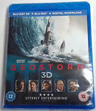GEOSTORM 3D Brand New 3D (and 2D) BLU-RAY Movie 2017 Gerard Butler Film