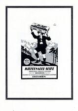 Seifenfabrik Kniewitz Augsburg XL Reklame 1922 Kiefernadel Seife Drei Lilien