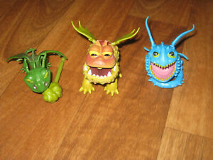 Dreamworks Dragons Baby Gronckle from Valka Pack