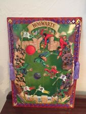 Harry Potter Hogwarts Quidditch Magnetic Playing Message Board Game Set 2000 WOW
