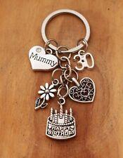 Personalised Birthday Gift keyring mum Daughter Sister Nan -18th 21st 30th 60th