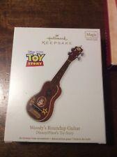 Hallmark Keepsake Ornament 2012 Disney Pixar Toy Story Woody's Roundup Guitar