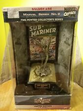 Comic Book Champions namor Sub Mariner Pewter Statue Modern-Age MARVEL