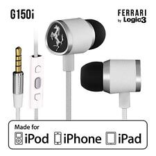 Ferrari G150i In-Ear Headset Kopfhörer Logic3 mit Fernbedienung UVP129€ Weiß