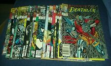 Deathlok 1-8 10-26 28 annual comics lot marvel run set movie collection tv show
