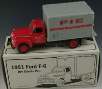 FIRST GEAR 1951 FORD F-6 DRY GOODS VAN TRUCK DIE CAST 1/34 SCALE MIB