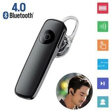 Wireless Bluetooth Stereo Headphone Headset Handfree Earphone For iPhone BLK AE