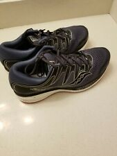Saucony Hurricane iso 5 Size Mens 9.5 used for 10 miles