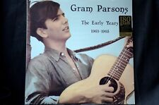 """Gram Parsons The Early Years 1963-1965 180g 12"""" vinyl LP New + Sealed"""