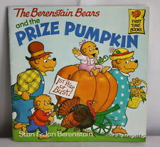 The Berenstain Bears and the Prize Pumpkin by Stan & Jan Berenstain 1990