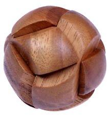 Ball 3D Puzzle Holzwürfel Holzkugel Holzpuzzle Denkspiel Knobelspiel Geduldspiel