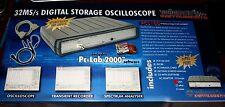 Velleman PCS100 PC-SCOPE 32 MS/S, 1 CHAN. W / ADAPTER ( PCS100 )