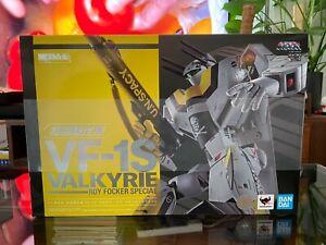 Bandai DX Chogokin VF-1S Valkyrie Roy Focker macross robotech US SELLER