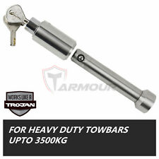 Trojan Hitch Pin Lock Tow Ball Mount Tongue Stainless Steel Marine Trailer Boat