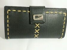Authentic Black Leather Guess wallet for women
