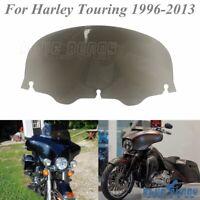10'' Batwing Windshield Windscreen For Harley Touring CVO Street Glide 1996-2013