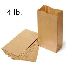 Paper Lunch Bags, Paper Grocery Bags, Durable Kraft Paper Bags, Pack Of 500 Bags
