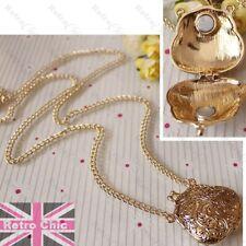 LOCKET OPENS gold fashion NECKLACE vintage purse HANDBAG ornate bag pendant long