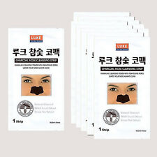 50pcs Korean Charcoal Nose Pore Cleansing Strips Blackhead Peel Off mask pack