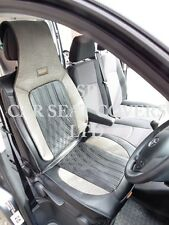 TO FIT A PEUGEOT EXPERT VAN, 2014, SEAT COVER, YS 03 ROSSINI SPORTS BLACK/GREY