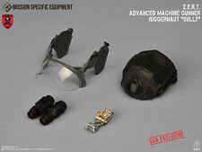 1/6 MSE ZERT Advanced Machine Gunner Sully USA: Black Multicam Helmet Visor NVG