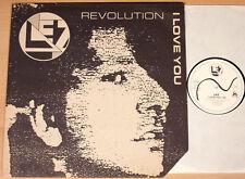 "LEZ - Revolution / I Love You  (VAMP, D 1989 / 12""-MAXI / NEUWERTIG)"