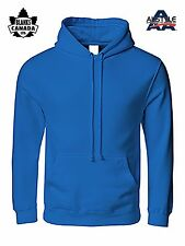 LOT OF 3 (THREE) ALSTYLE BLANK COTTON PULLOVER HOODIES - BEST PRICE