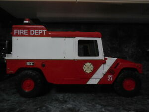 americas finest fire command vehicle humvee hummer