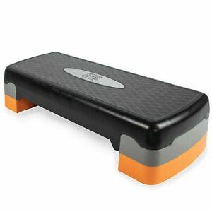 Aerobic Stepper Yoga Step Home Gym Fitness Exercise Adjustable 2 Level Board