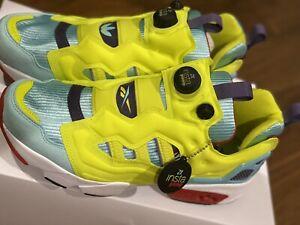 Adidas X Reebok ZX Fury ZX Pump Size M9.5 GZ7286
