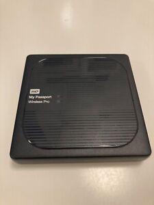 WD 2TB My Passport Wireless Pro / Externe WiFi Festplatte mit SD-Kartenleser