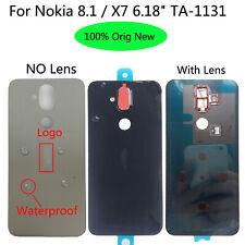 OEM For Nokia 8.1 TA-1131 TA-1119 TA-1121 1128 Back Glass Housing Battery Cover