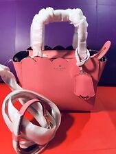 Kate Spade Handbag Micro Mina Magnolia Street Crlnc/dplm Pink RRP£275 On Sale