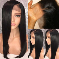 Silk Top Full Lace Wig Straight Virgin Peruvian Human Hair 360 Lace Frontal Wigs