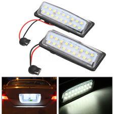 Xenon White 18 LED License Plate Light Lamps for Nissan Altima Maxima Murano