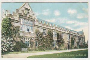 Oxfordshire Carte Postale - st John's Collège, Oxford - P/U 1911 (A347)