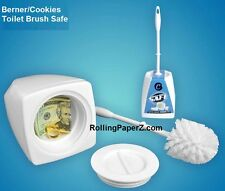 Cookies Toilet Brush SAFE Secret Diversion Security Hideaway Can - CASH Stash