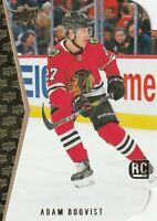 Adam Boqvist 2019-20 Upper Deck UD Series 2 SP 1994-95 SP Diecut RC #18 Chicago