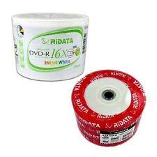 Ritek Ridata White Inkjet HUB Printable COMBO 50 DVD-R & 50 CD-R Blank Discs
