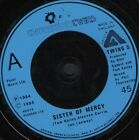 """THOMPSON TWINS sister of mercy out of the gap 7"""" WS EX/ uk arista TWINS 5"""