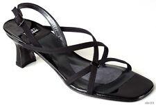"new STUART WEITZMAN ""Twigs"" strappy black sandals Shoes 11"