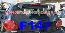 SPOILER  ALETTONE TOYOTA AYGO   GREZZO  F147G TR147-1h