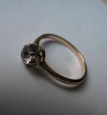 Russian Soviet Ring Rose Pink Gold Alexandrite stone sz 6 Колечко Александрит