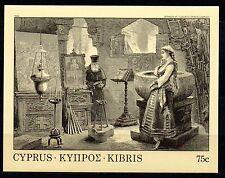 Cyprus 1984 Copper etching Mi. Block 12 MNH