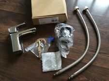 SINGLE LEVER BASIN MIXER TAP WITH POP UP CLICK WASTE -CHROME-QUALITY-'SURPLUS'