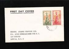 New Zealand Health Stamps 1945 FDC Wellington Cover to London 7v