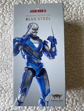 Comicave Iron Man Mk30 Blue Steel scales w/ SH Figuarts. US Seller, Genuine!