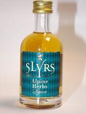 Slyrs LIQUEUR Alpine Herbs 50 ML 30% MINI BOTTIGLIA BOTTLE miniature bottela