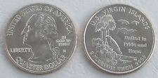 USA State Quarter 2009 Amerikanische Jungferninseln U.S. Virgin Islands D unz.