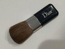 """NEW Authentic DIOR mini blusher blush brush Navy Blue silver logo 2"""" For Compact"""